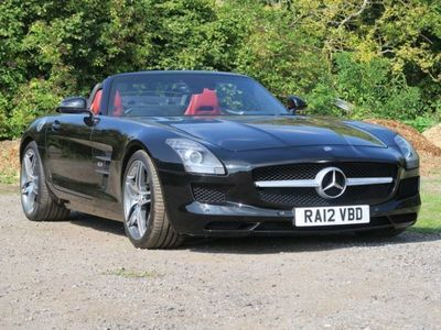 used Mercedes SLS AMG Roadster Auto