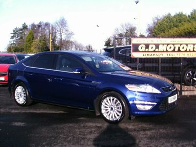 used Ford Mondeo 2.0 ZETEC BUSINESS EDITION TDCI