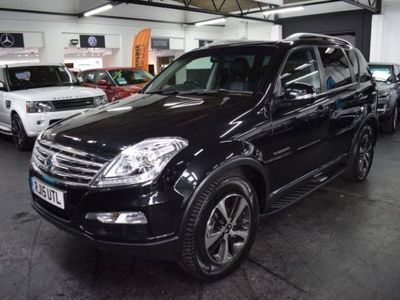 used Ssangyong Rexton 2.0 EX 5d 153 BHP AUTO 7 SEATS SERVICE HISTORY TO 40K MILES