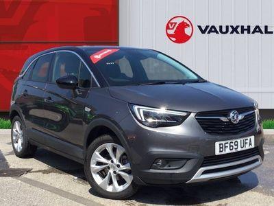 used Vauxhall Crossland X 1.2 Turbo Business Edition Nav SUV 5dr Petrol Manual (s/s) (130 Ps)