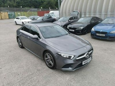 used Mercedes A180 A-Class Saloond AMG Line 7G-DCT auto 4d