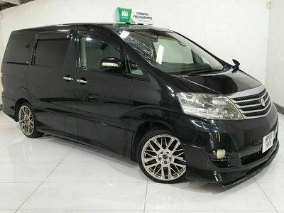 used Toyota Alphard 2.4 12 MONTH MOT, 8 SEATER DUAL CLIMATE