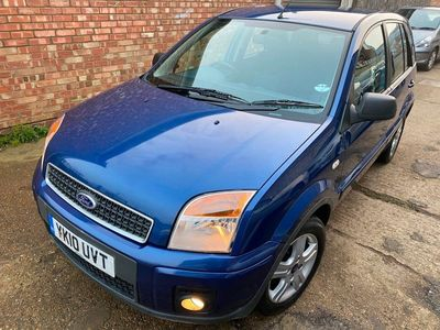 used Ford Fusion 1.6 Zetec 5dr Auto [Climate]