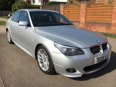 used BMW 520 5 Series 2.0TD d M Sport Business Edition Saloon 4d 1995cc auto