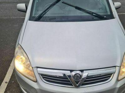 used Vauxhall Zafira 1.6 i VVT 16v Exclusiv 5dr