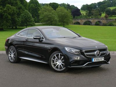 used Mercedes S63 AMG S Class2dr Auto Coupe 2016