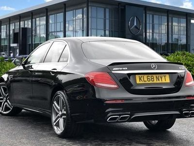 used Mercedes E63 AMG E-Class Saloon4Matic+ AMG Speedshift MCT auto 4d