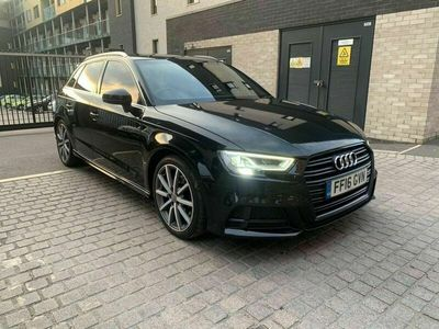 used Audi A3 Sportback 2.0 TDI S line S Tronic quattro 5dr