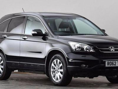 used Honda CR-V 2.0 i-VTEC ES 5dr Auto Black Automatic Petrol
