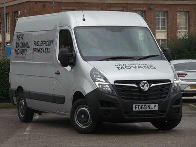 used Vauxhall Movano 2.3 Turbo D 135Ps H2 Van