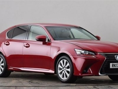 used Lexus GS300h 2.5 Executive Edition 4dr CVT Red Automatic Hybrid