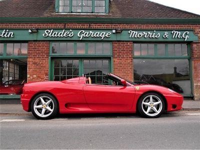 used Ferrari 360 Spider Manual