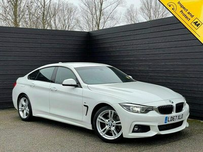 used BMW 430 Gran Coupé 4 Series 3.0 d M Sport Auto (s/s) 5dr 1 OWNER SVC HISTORY SAT NAV Saloon 2017