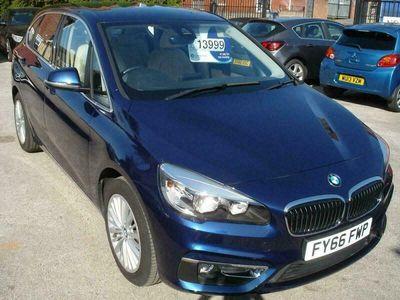 used BMW 216 Active Tourer 2 Series 1.5TD (116bhp) d Luxury (s/s) 5d 5-Door