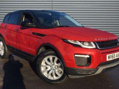 used Land Rover Range Rover evoque 2.0 TD4 SE Tech 4WD (s/s) 5dr diesel hatchback
