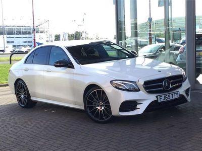 used Mercedes E220 E CLASS DIESEL SALOONAMG Line Edition Premium Plus 4dr 9G-Tronic