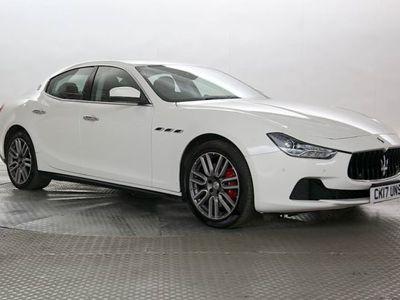 used Maserati Ghibli 3.0 V6 D Luxury 4dr