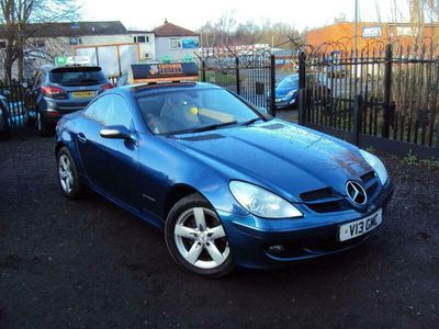 used Mercedes SLK200 SLK 1.8Kompressor 2dr
