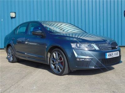 used Skoda Octavia Vrs 2.0 TDi VRS CR DSG with Parking Sensors and Sat Nav 5-Door