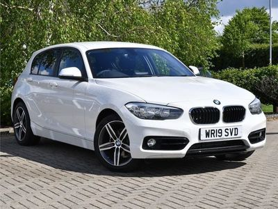 used BMW 118 1 Series d Sport 5-door 2019