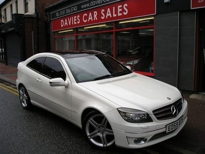 used Mercedes CLC180  CLC 1.8KOMPRESSOR SPORT 3DR AUTOMATIC MAIN DEALER SERVICE HISTORY,CREDIT TO LAST OWNER,LOVELY,