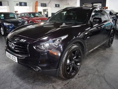 used Infiniti QX70 3.0 S DESIGN D 5d 235 BHP 4 SERVICE STAMPS TO 57K MILES