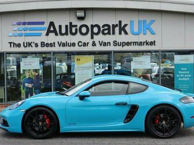 used Porsche 718 Cayman GTS 2.5 PDK 2d 360 BHP