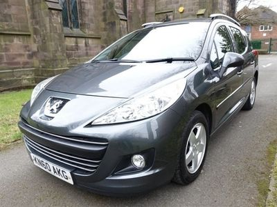 used Peugeot 207 1.6 HDI SW MILLESIM 5d 92 BHP Only 2 Owners From New