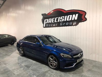 used Mercedes C63 AMG C Class 4.0V8 BiTurbo AMG Saloon 4dr Petrol SpdS MCT (s/s) (476 ps)