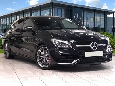 used Mercedes CLA45 AMG ClaNight Edition 4Matic 5Dr Tip Auto