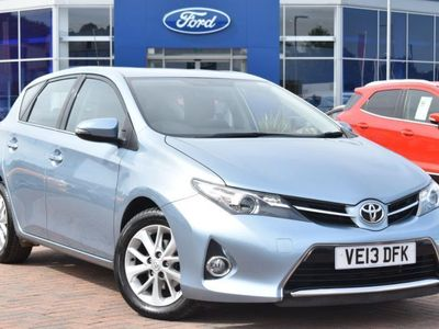 used Toyota Auris 2013 Chesterfield 1.6 V-Matic Icon 5dr Multidrive S Hatchback