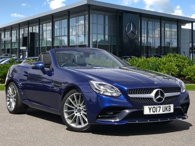 used Mercedes SLC200 SLC 2.0AMG Line Convertible 2dr Petrol Manual (s/s) (184 ps)