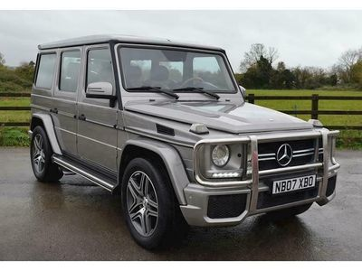 used Mercedes G55 AMG G Class5.4 5dr