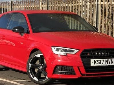 used Audi A3 2017 Doncaster S3 TFSI Quattro Black Edition 3dr S Tronic