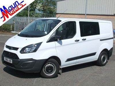 used Ford Custom Transit2.2 TDCi 290 L1H1 Double Cab-in-Van 5dr