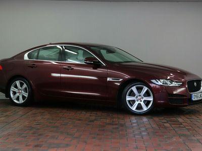 used Jaguar XE 2.0d [180] Portfolio 4dr Auto [18in Alloy Wheels - Matrix 7 Twin Spoke - Silver, Privacy Glass]