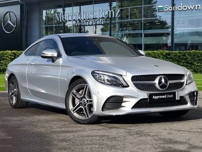 used Mercedes C220 C-Classd AMG Line Coupe
