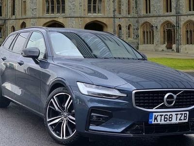 used Volvo V60 D3 R-Design Pro Automatic, Winter Pack, Front and Rear Park Assist 2.0 5dr