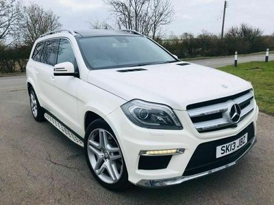 used Mercedes GL350 GL Class 3.0CDI BLUETEC AMG SPORT 5d AUTO 258 BHP S/H-PAN ROOF-360 CAMERA- LE