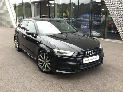 used Audi A3 SALOON SPECIAL EDITIONS 1.5 TFSI Black Edition 4dr S Tronic