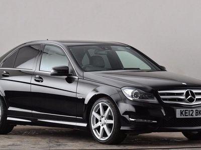 used Mercedes C220 C CLASSCDI BlueEFFICIENCY Sport 4dr Auto Black Automatic Diesel