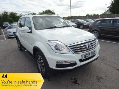 used Ssangyong Rexton EX