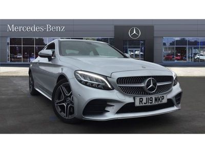 used Mercedes C300 C CLASS 2019 ReadingAMG Line 2dr 9G-Tronic Petrol Coupe