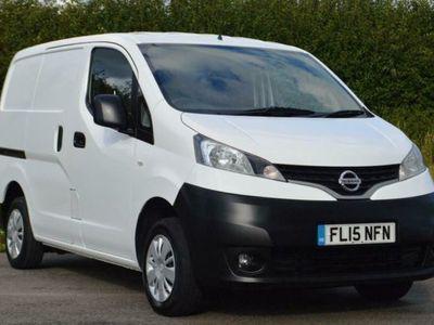 used Nissan NV200 1.5 dCi Acenta Van, 2015, Van, 38000 miles.