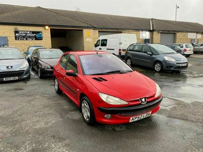 used Peugeot 206 2.0 HDi LX 5dr (a/c)