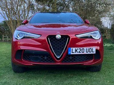 used Alfa Romeo Stelvio 2.9 V6 Bi-Turbo Quadrifoglio Auto Q4 AWD (s/s) 5dr