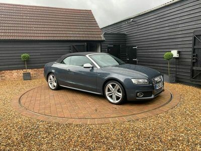 used Audi S5 Cabriolet 3.0 TFSI V6 S Tronic quattro 2dr