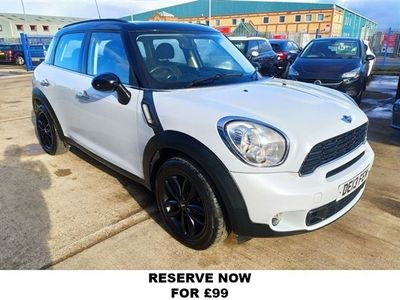 used Mini Cooper SD Countryman 2.0 5d 141 BHP 8 STAMPS OF SERVICE HISTORY, 2013 ( )