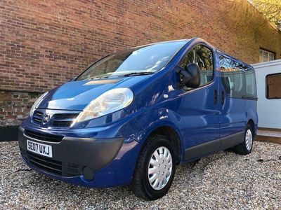used Nissan Primastar 2.0 dCi SE 115ps 9 Seater, 2007 (07)