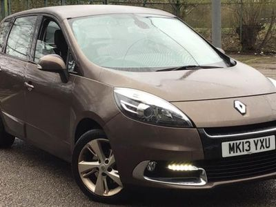 used Renault Scénic 2013 Altrincham 1.6 dCi Dynamique TomTom Energy 5dr